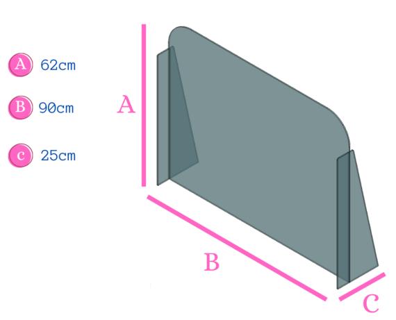 panel de acrílico